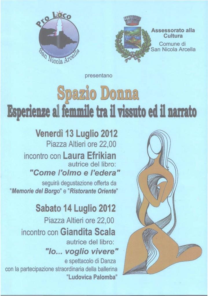 Evento a San Nicola Arcella 2012